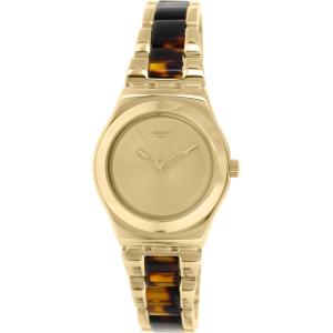 Swatch Women's Irony YLG127G Gold Stainless-Steel Swiss Quartz Watch