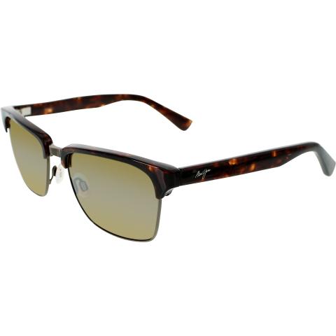 Maui Jim Men's Kawika H257-16C Tortoiseshell Square Sunglasses