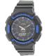 Casio Men's Solar ADS800WH-2A2V Black Plastic Quartz Watch - Main Image Swatch
