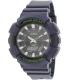 Casio Men's Solar ADS800WH-2AV Blue Resin Quartz Watch - Main Image Swatch