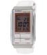 Casio Women's Futurist LA201WBL-7A White Leather Quartz Watch - Main Image Swatch