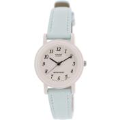 Casio Women's LQ139L-2B Blue Leather Quartz Watch