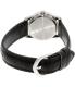 Casio Women's LTPV001L-7B Black Leather Quartz Watch - Back Image Swatch
