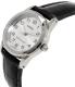 Casio Women's LTPV001L-7B Black Leather Quartz Watch - Side Image Swatch