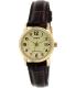 Casio Women's LTPV002GL-9B Brown Leather Quartz Watch - Main Image Swatch