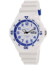 Casio Women's Core MRW200HC-7B2V White Rubber Quartz Watch