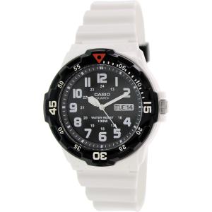 Casio Men's Core MRW200HC-7BV White Rubber Quartz Watch