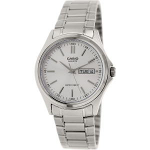 Casio Men's Core MTP1239D-7A Silver Metal Quartz Watch