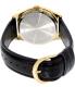 Casio Men's MTPV003GL-9B Black Leather Quartz Watch - Back Image Swatch