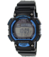 Casio Men's Solar STLS100H-2AV Black Rubber Quartz Watch - Main Image Swatch