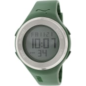 Puma Men's PU910981005 Green Rubber Quartz Watch