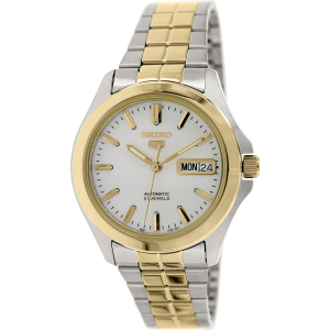Seiko Men's 5 Automatic SNKK94K Silver Stainless-Steel Automatic Watch