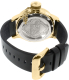 Invicta Men's Russian Diver 14775 Black Leather Swiss Quartz Watch - Back Image Swatch