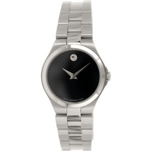 Movado Women's 0606558 Silver Stainless-Steel Swiss Quartz Watch