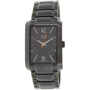 Esq Men's Synthesis 07301411 Black Stainless-Steel Swiss Quartz Watch