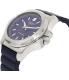 Victorinox Swiss Army Men's Inox 241688.1 Blue Rubber Swiss Quartz Watch - Side Image Swatch