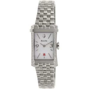 Bulova Women's Diamond Gallery 96R187 Silver Stainless-Steel Quartz Watch