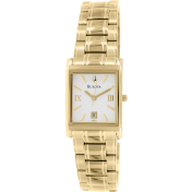 Bulova Women's 97M102 Gold Stainless-Steel Quartz Watch