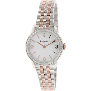 Open Box Bulova Women's Diamond Watch