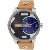 Diesel Men's Mini Daddy DZ7308 Blue Leather Quartz Watch