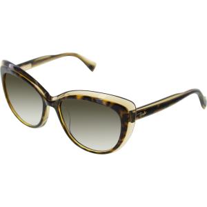 Emilio Pucci Women's  EP721S-244-56/17 Tortoiseshell Cat Eye Sunglasses