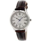 Seiko Women's SXDG21 Brown Calf Skin Quartz Watch