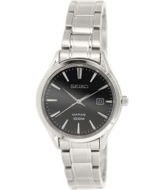 Seiko Women's SXDG19 Silver Stainless-Steel Quartz Watch