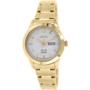 Seiko Women's SUT164 Gold Gold Tone Stainles-Steel Quartz Watch