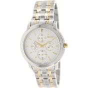 Seiko Men's SRL005 Silver Stainless-Steel Quartz Watch