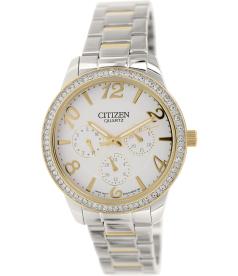 Citizen Women's ED8124-53A Silver Stainless-Steel Quartz Watch