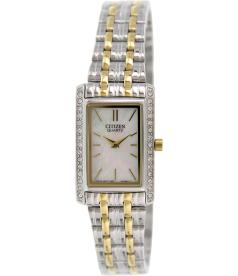 Citizen Women's EK1124-54D Silver Stainless-Steel Quartz Watch