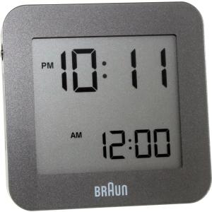Braun Men's  Clock BNC009GY-RC