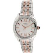 Seiko Women's SRZ427 Silver Stainless-Steel Quartz Watch