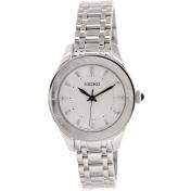 Seiko Women's SRZ431 Silver Stainless-Steel Quartz Watch