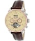 Ingersoll Men's San Bernadino IN4514RCR Brown Leather Automatic Watch - Main Image Swatch