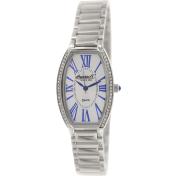 Ingersoll Women's Lansing INQ021SLSL Silver Stainless-Steel Analog Quartz Watch