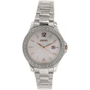 Seiko Women's SXDF79 Silver Stainless-Steel Quartz Watch