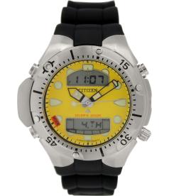 Citizen Men's Promaster JP1060-01X Black Rubber Analog Quartz Watch