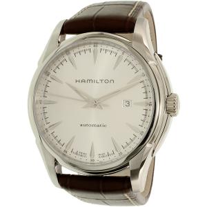 Hamilton Men's Jazzmaster H32715551 Brown Leather Swiss Quartz Watch