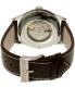 Hamilton Men's Jazzmaster H32715551 Brown Leather Swiss Quartz Watch - Back Image Swatch