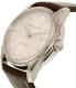 Hamilton Men's Jazzmaster H32715551 Brown Leather Swiss Quartz Watch - Side Image Swatch