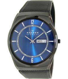 Skagen Men's Melbye SKW6088 Black Stainless-Steel Quartz Watch
