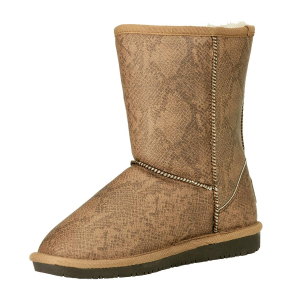 Bearpaw Women's Emma Short Ankle-High Suede Boot