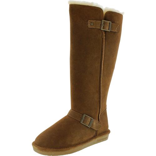 Bearpaw Women's Johanna Hickory Mid-Calf Suede Boot - 10M
