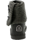 Bearpaw Girl's Knit Tall Youth Mid-Calf Wool Boot - Back Image Swatch