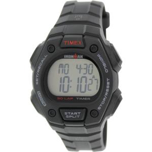 Timex Men's Ironman T5K822 Black Silicone Quartz Watch