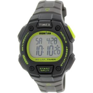Timex Men's Ironman T5K824 Grey Resin Quartz Watch