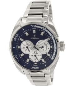 Festina Men's F16608/3 Silver Stainless-Steel Quartz Watch