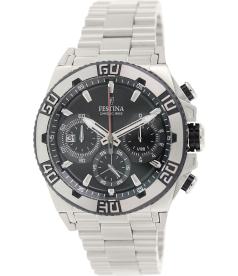 Festina Men's F16658/5 Silver Stainless-Steel Analog Quartz Watch