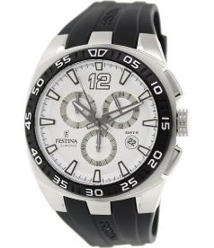 Festina Men's F16668/1 Black Rubber Analog Quartz Watch